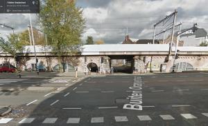 routebeschrijving Tussen de Bogen 24 tunneltje